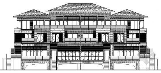 丹堤C区9号楼建筑施工图