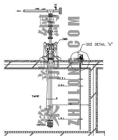 水泵配管大样图