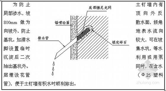 [北京]研究所宿舍楼深基坑施工方案(土钉墙 降水)