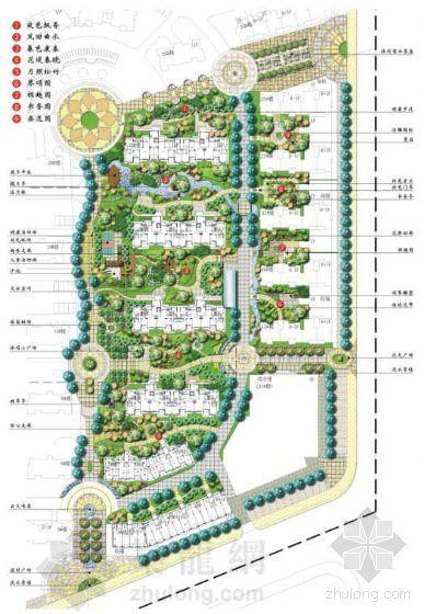 [湖北武汉]小区环境景观设计方案