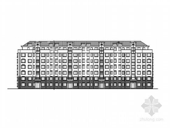 [无锡]某五星居住区D组团建筑方案图