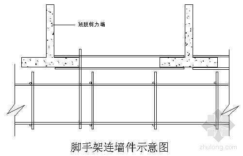 河北省某大学高层学生公寓脚手架搭设施工方案