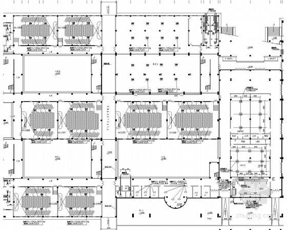 大学学生活动中心风冷热泵空调系统设计施工图