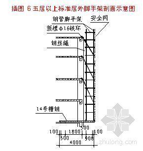 郑州某高层办公楼脚手架施工方案