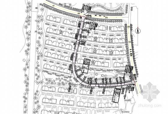 [江苏]2013年某拆迁安置房小区二期项目市政道路大型土石方工程量清单预算(配套施工图及说明)