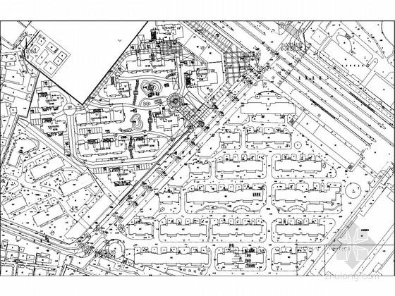 市政道路工程改造施工图32张(道路排水路灯)
