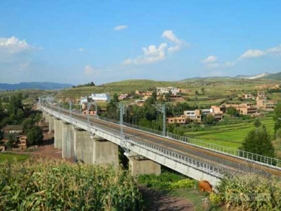 Ⅰ级双线铁路施组设计(路基 桥涵 轨道)