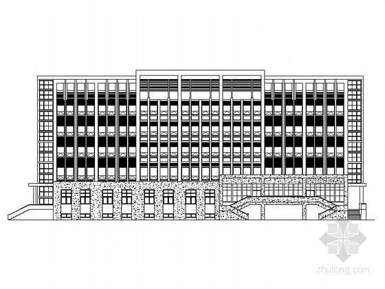 某小学五层行政楼建筑施工图