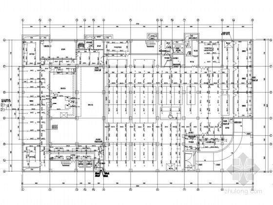 [河北]多层商务大厦给排水消防施工图(自动喷淋 太阳能热水系统)