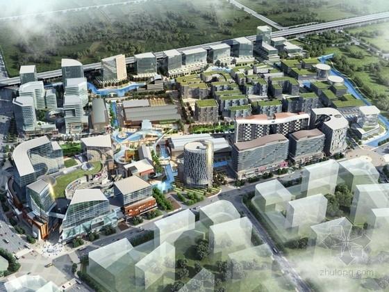 [浙江]杭州城市综合体及单体设计方案文本