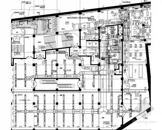 [江苏]高层商业办公楼通风空调及防排烟系统设计施工图