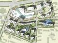 [青岛]现代新形态中央商务区景观概念规划设计方案