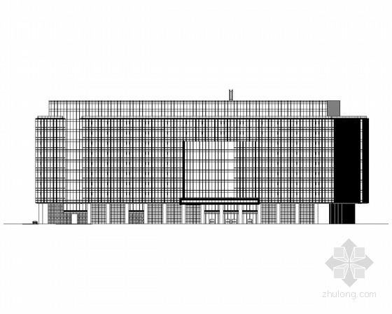 [北京]某11层企业办公楼施工图(美国知名公司设计)