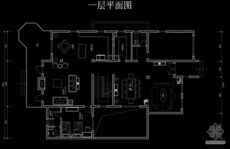 [北京]高端别墅装修图赏析及分析