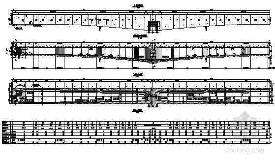 [江苏]时速200公里客货共线铁路64+108+64双线连续梁图纸81张(桥宽12.1m)