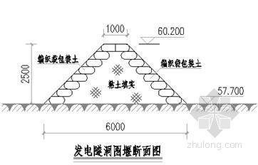 浙江大型水库除险加固工程施工组织设计