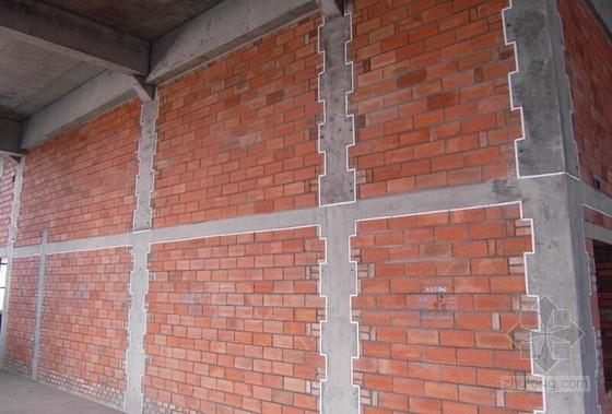 [QC成果]提高框剪结构填充墙构造柱质量成果汇报(14页 附图)