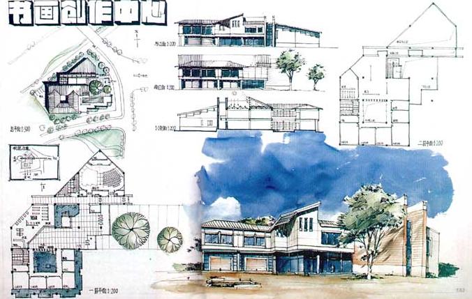180张超经典建筑快题设计方案_2