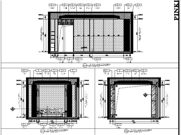 [佛山]知名设计新中式与现代简约别墅样板房设计施工图(含实景图_6