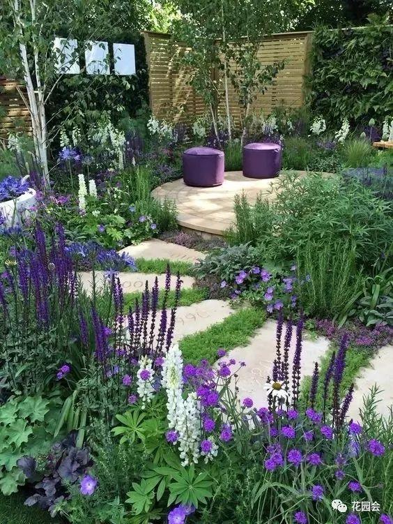 花草与石板的关系•花园小径_4
