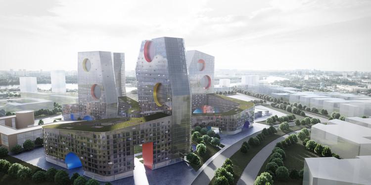 霍尔建筑事务所为莫斯科打造新住宅形式
