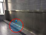 自动冲水成品不锈钢小便槽小便池
