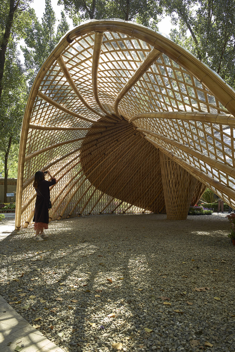 北京林业大学花园节信息亭-009-swirling-cloud-bulletin-pavilion-for-bjfu-garden-festival-by-sup-atelier