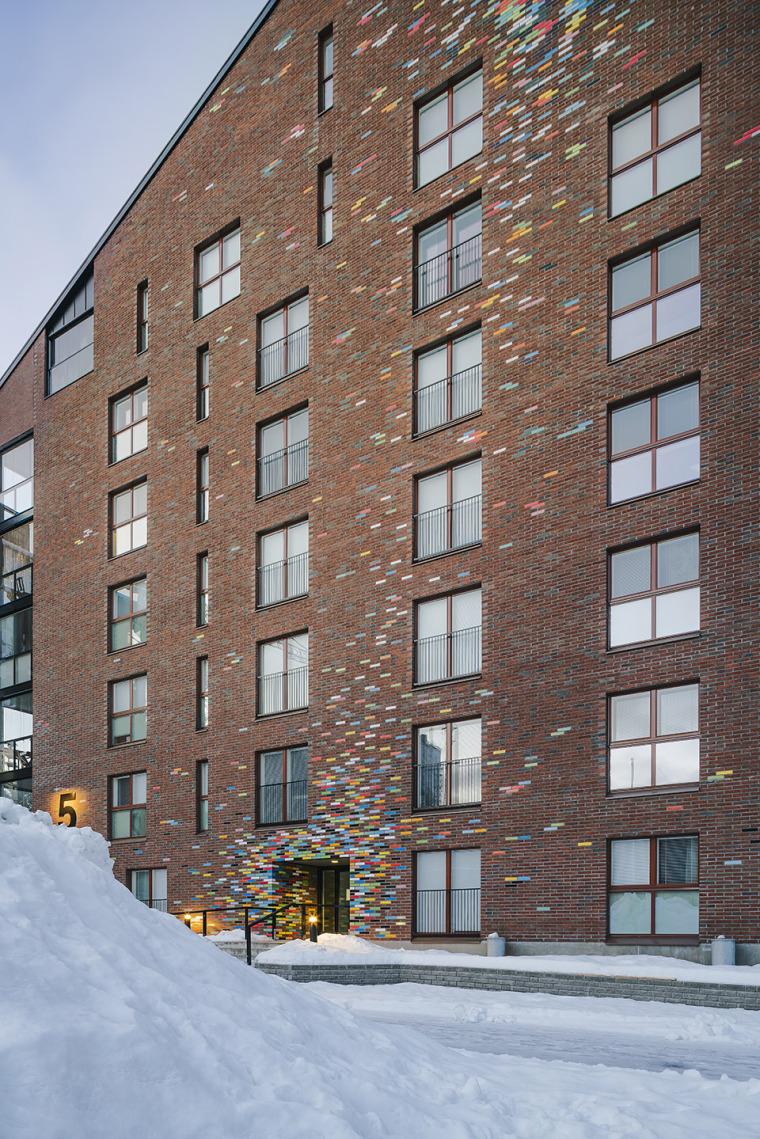 芬兰Albertinpiha公寓楼-6