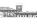 两层新中式风格上海会所建筑设计图