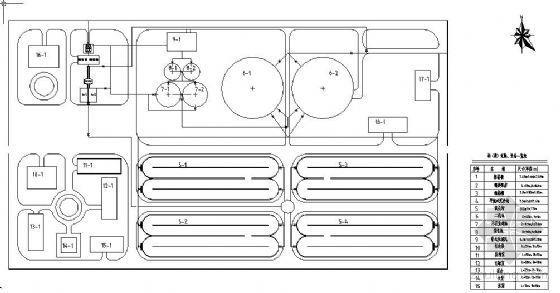 aao氧化沟平面布置图资料下载-氧化沟工艺处理城市污水毕业设计(图纸、计算书、答辩幻灯片)