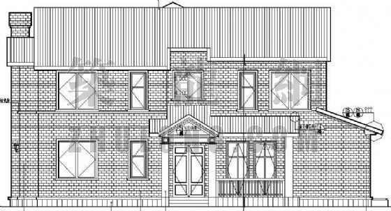 某别墅区设计方案(A)型-2