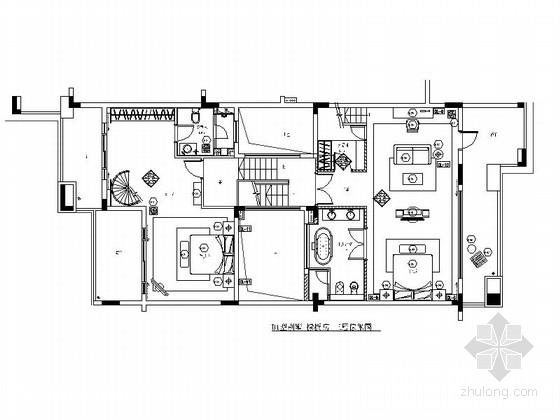 U型景观泳池结构施工图资料下载-[深圳]3层大型豪华附带泳池型别墅室内设计施工图