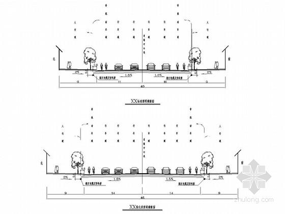 [河北]市政道路照明及交通信号灯施工图设计27张