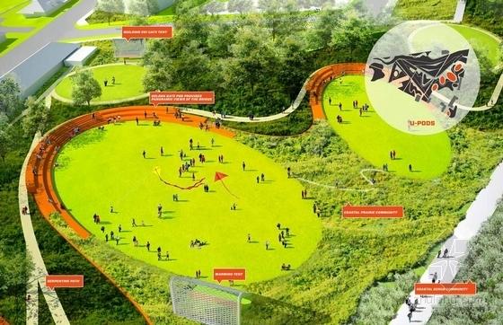 [国外]休闲滨水公园景观方案设计-效果图