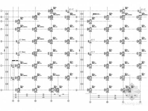 [云南]改扩建项目厨房结构施工图