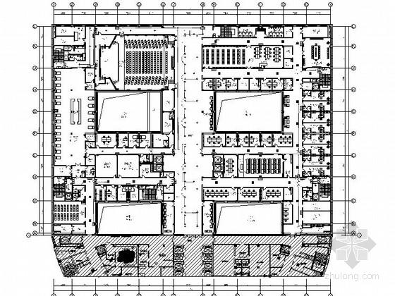 [沈阳]3级甲等重点医院门诊楼室内设计CAD施工图