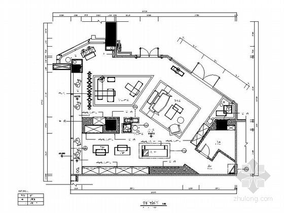 [广东]男女奢华品牌现代时尚专卖店室内装修施工图(含效果图)