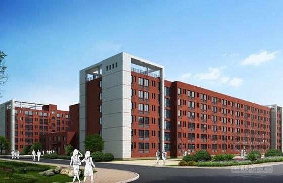 学生公寓建筑工程预算书(广联达软件实例 工程最高限价)