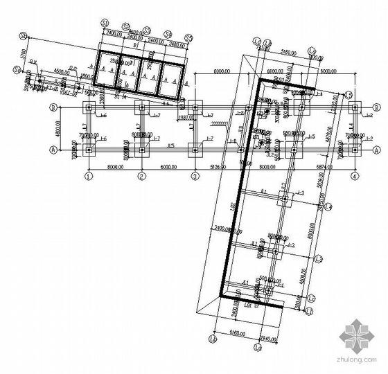北京某钢结构别墅结构图