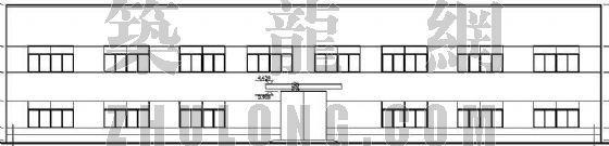 某带吊车的厂房建筑设计方案
