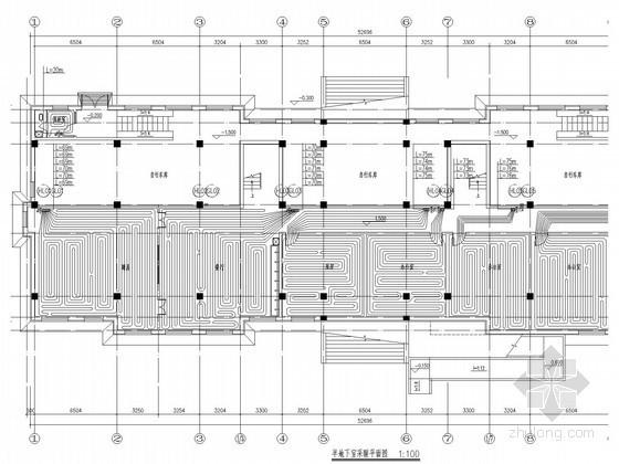 [辽宁]多层幼儿园建筑采暖通风系统设计施工图