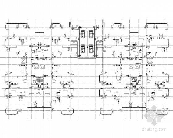 [北京]国贸宿舍楼暖通空调系统全套设计施工图