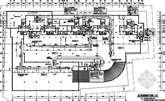 [浙江]多栋高层建筑地下通风设计施工图