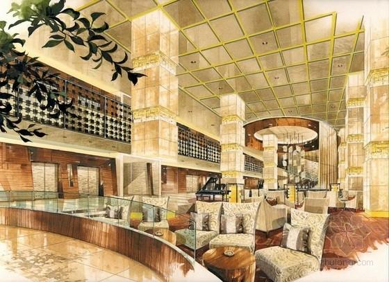 [上海]高档五星级假日酒店设计方案图