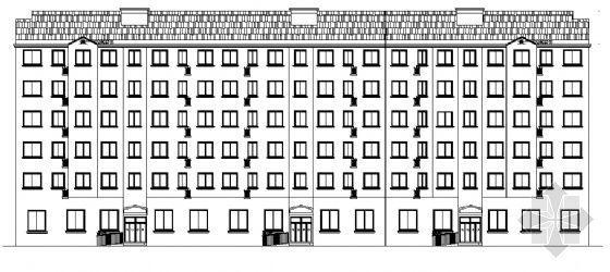 某六层宿舍楼建筑施工图