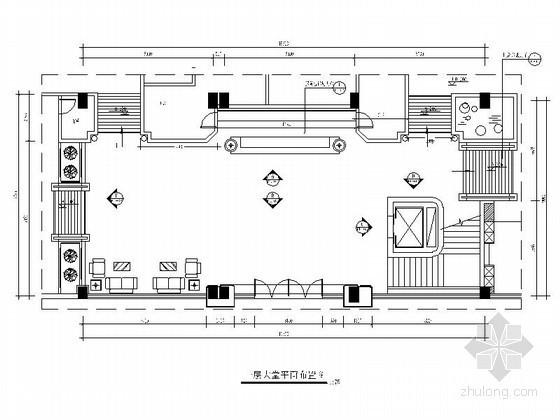 [东莞]休闲会所大堂室内装修图
