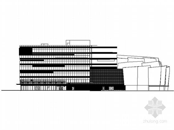 某五层剧场建筑设计方案图