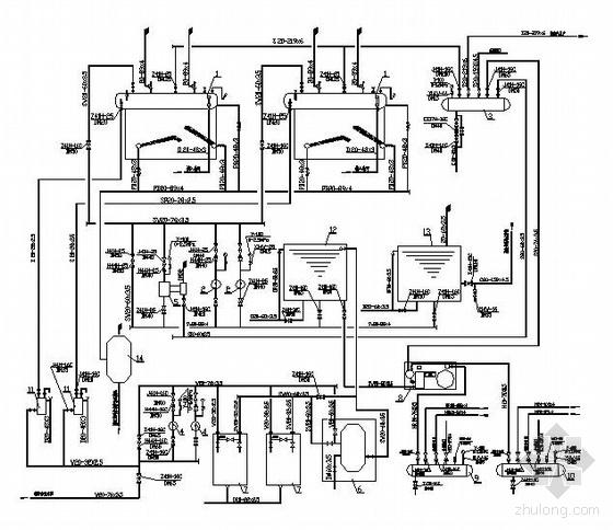 锅炉房初步设计图纸图片