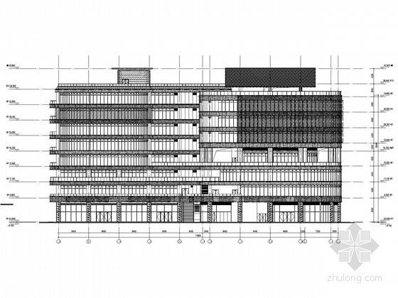 [上海]商业广场建筑泛光照明工程全套电气施工图纸