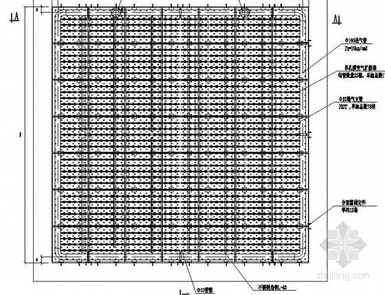 曝气生物滤池设计施工图